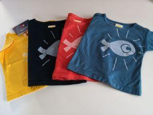 LINO poisson T-Shirt réversible - Bonjour Maurice